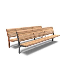 Gro Bench by Furns 230x57x111cm