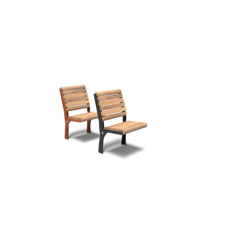 Gro Bench by Furns 50x57x111cm