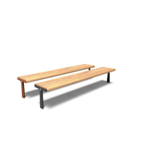 Gro Backless Benches by Furns 230x57x60cm
