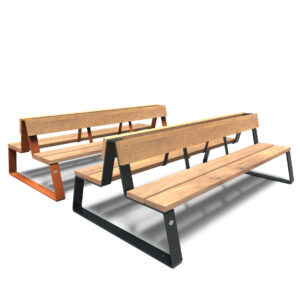 Mio Benches by Furns 230x132x84cm