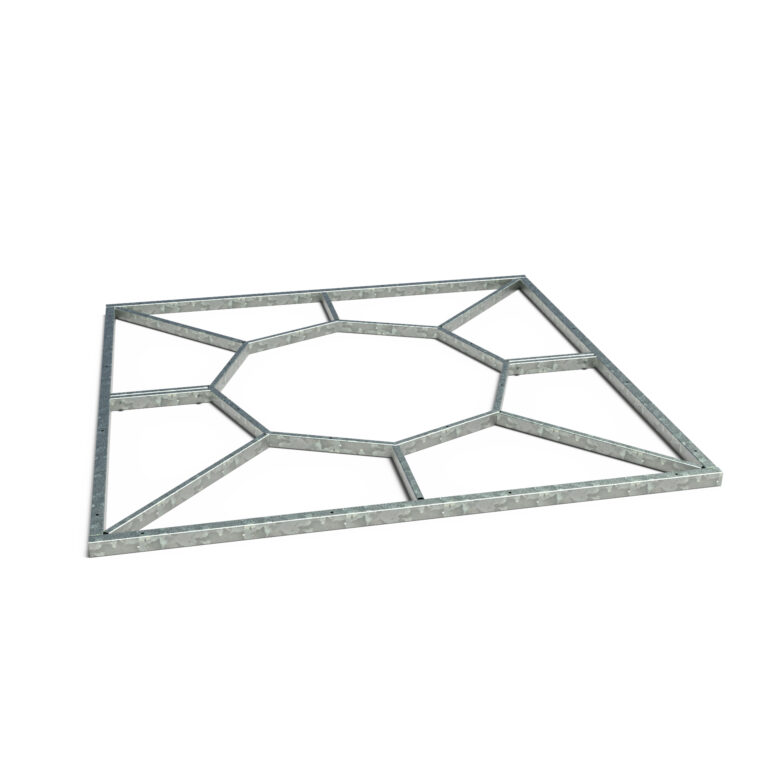 Tree Grille Square Frame 195x5cm