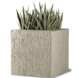 Beton Cube Planter Pebble Grey
