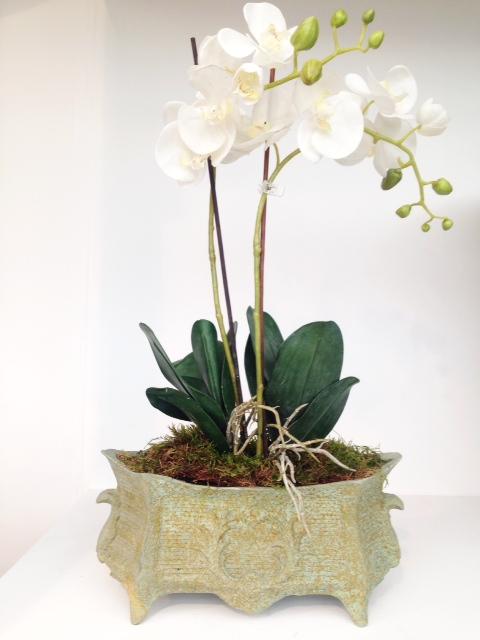 Dauphin Planter in Bronzage Lifestyle1