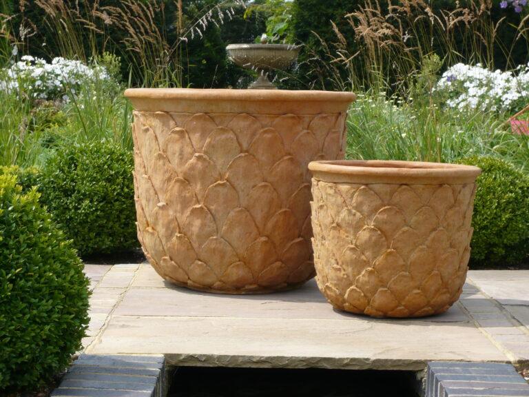 Pineapple Pot in Terracotta Lifestyle4