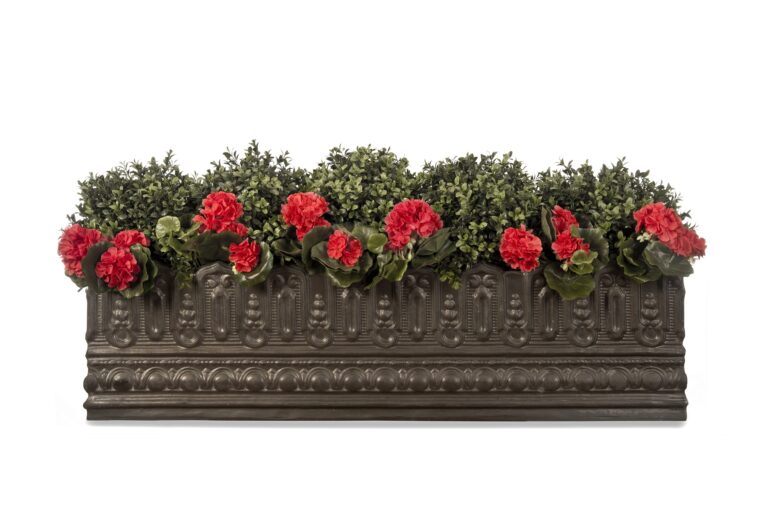 Pinot Window Box in Faux Lead Lifestyle1