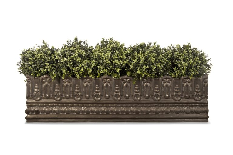 Pinot Window Box in Faux Lead Lifestyle2