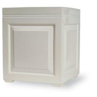Sloane Box Planter in White